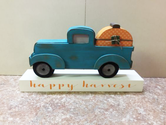 happy harvest truck craft