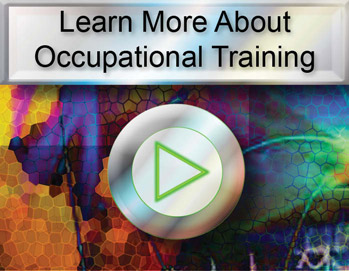 Occupational Training Video Button